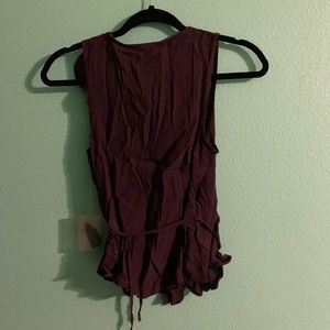 Forever 21 Tops - NWT Purple Wrap Top